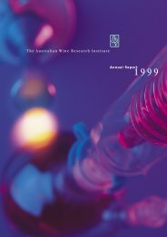 2.0 Mb PDF file - The Australian Wine Research Institute
