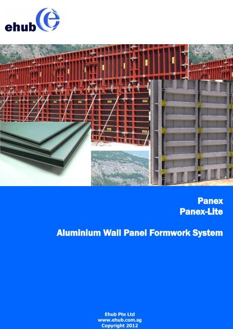 Panex Panex-Lite Aluminium Wall Panel Formwork     - Ehub PTE  Ltd