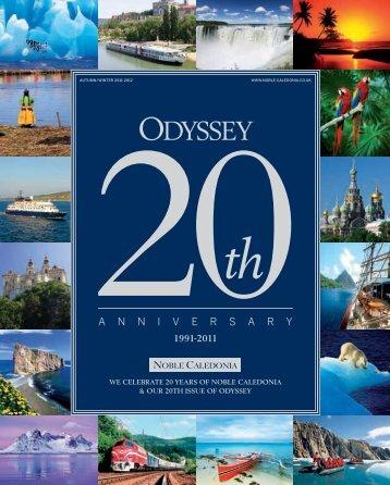 Odyssey magazine. - Noble Caledonia