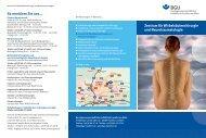 Zentrum für Wirbelsäulenchirurgie und Neurotraumatologie So ...