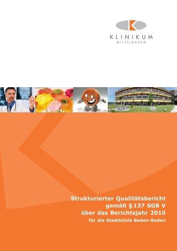 Stadtklinik Baden-Baden - KTQ