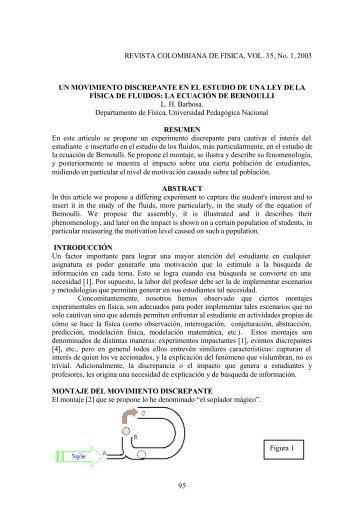 ρ - Revista Colombiana de Física