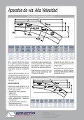 Aparatos de vía: Alta Velocidad - Page 2