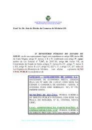 PORTARIA N° 001/95 - Ministério Público do Estado de Goiás