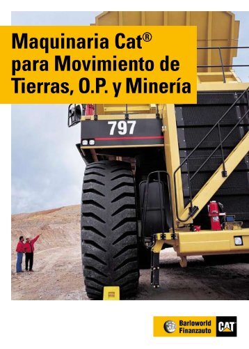 Maquinaria Cat® para Movimiento de Tierras, O.P. y ... - Interempresas