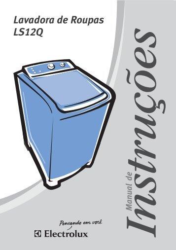 Lavadora de Roupas LS12Q - Electrolux