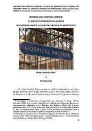 HISTORIA DEL HOSPITAL PASTEUR - Sindicato Médico del Uruguay