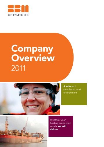 Company overview 2011 - SBM Offshore