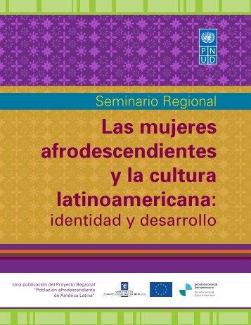 Las mujeres afrodescendientes y la cultura latinoamericana: Identidad
