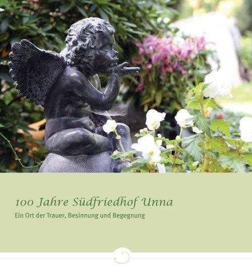 """Broschüre """"100 Jahre Südfriedhof Unna"""" - Stadtbetriebe Unna"""