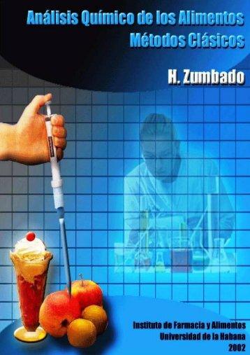 Análisis químico de los alimentos: métodos clásicos - Editorial ...