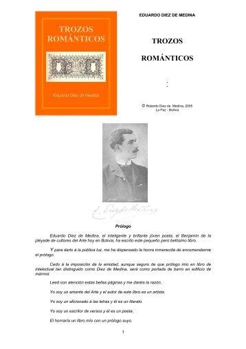 TROZOS ROMÁNTICOS - andes
