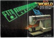 Máquina de coser Alfa World 4005