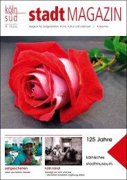 stadtMAGZIN köln-süd | Ausgabe Juni/Juli 2013