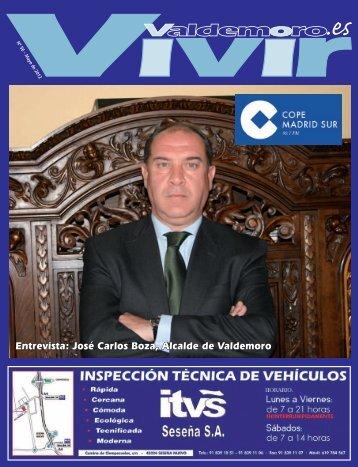 Entrevista: José Carlos Boza, Alcalde de Valdemoro - Revista Vivir ...