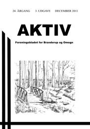 24. ÅRGANG 3. UDGAVE DECEMBER 2011 - Branderup