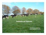 Nutrición en Pastoreo