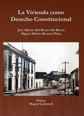 La Vivienda como Derecho Constitucional - Universidad Juárez ...