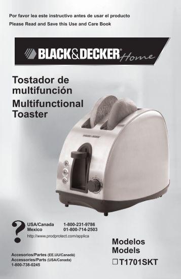 Tostador de multifunción Multifunctional Toaster - Applica Use and ...