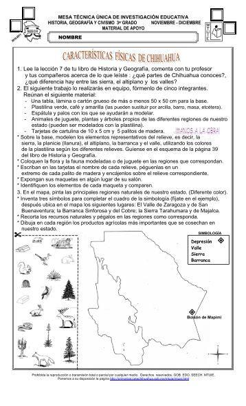 Geografía y Civismo - Dirección de Educación Primaria - Chihuahua