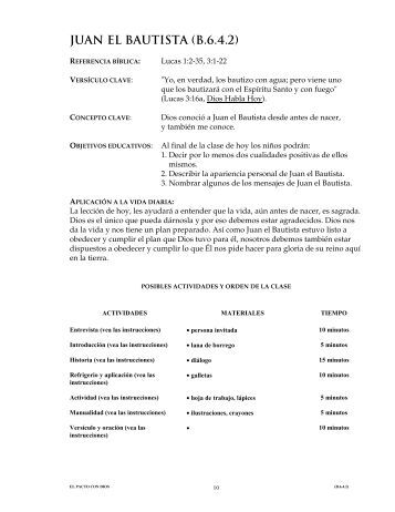 JUAN EL BAUTISTA (B.6.4.2)