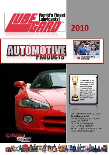 Catalogo Italia - International Lubricants Inc.