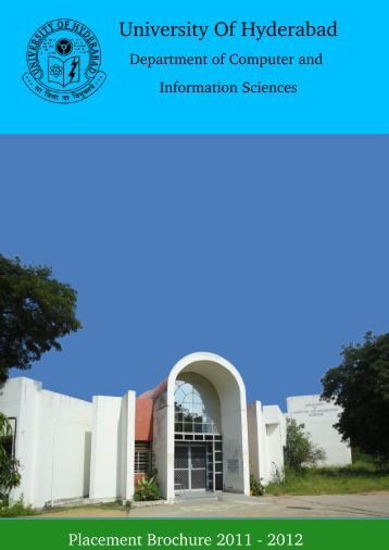 DCIS Placement Brochure 2010-11 - Department of Computer and ...