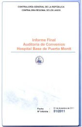 informe final 51-11 hospital base de puerto montt auditoría de ...