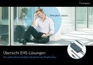 Übersicht EHS-Lösungen