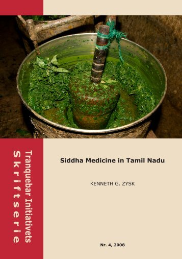 Siddha Medicine in Tamil Nadu - Nationalmuseet