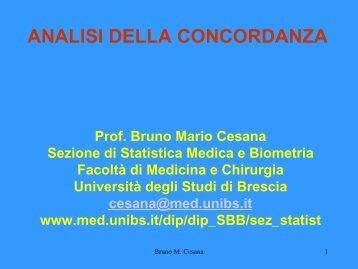 15a_concordanza - Medicina e Chirurgia - Università degli Studi di ...
