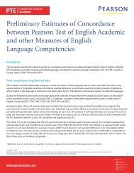 Preliminary Estimates of Concordance between Pearson Test of ...