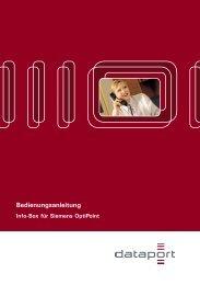 Info-Box für Siemens optiPoint.indd - RRZ Universität Hamburg