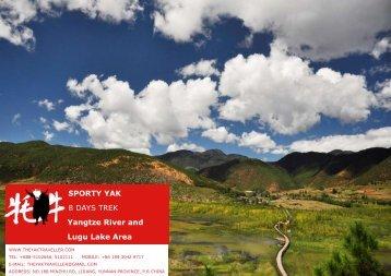 SPORTY YAK 8 DAYS TREK Yangtze River and ... - The Yak Traveller