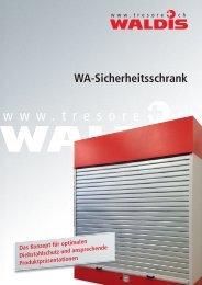 WA-Sicherheitsschrank - Waldis Tresore