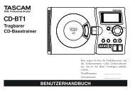 CD-BT1 - Tascam