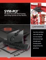 Sym-Ply™ Brochure - Dayton Superior