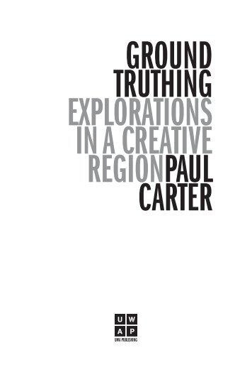 Book Extract - UWA Publishing - The University of Western Australia