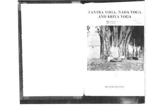 Shivananda Tantra Nada Kriya All Scanned Pdf