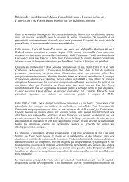 Préface Louis Berreur - Consulting News Line