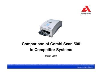 Combi Scan 500 - Blooming Impex