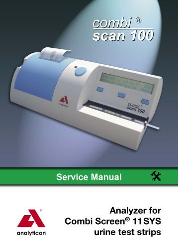Service Manual Analyzer for Combi Screen® 11 SYS urine ... - Alere