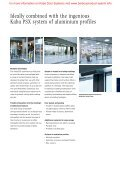Automatic sliding door SLX/PSX system - Barbour Product Search - Page 7