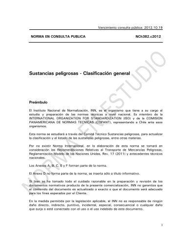 Sustancias peligrosas - Asociacion de Industriales Quimicos, Asiquim