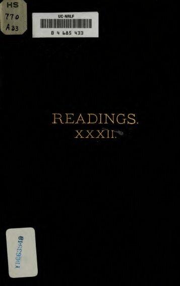 Readings XXXII - Grand Lodge of Colorado