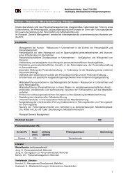 Human Ressource Mitarbeiterführung - staatliche Studienakademie ...