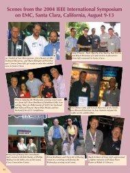 Scenes from the 2004 IEEE International Symposium on EMC ...
