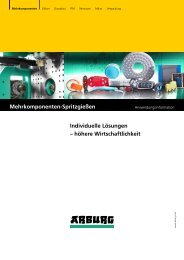 Anwendungsinformation - Mehrkomponenten-Spritzgießen - Arburg