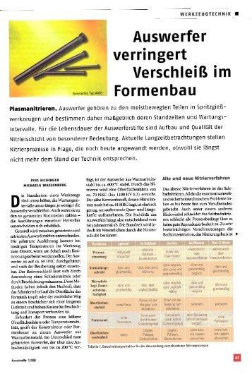 Kunststoffe 7/2006 - Drei-S-Werk
