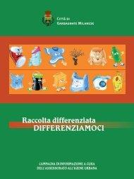 DIFFERENZIAMOCI - libretto raccolta differenziata.pdf - Comune di ...